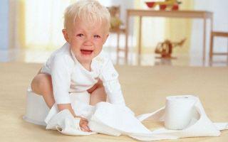Запор у ребенка 2 года что делать в домашних условиях